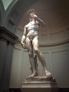 El David de Miguel Angel - Galeria de la Academia - Florencia