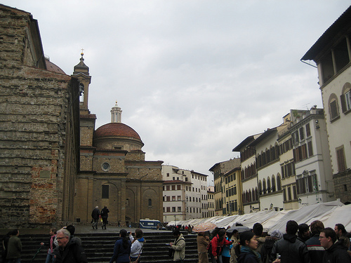 Piazza San Lorenzo Florencia