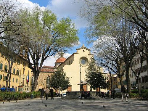 Piazza Santo Spirito Florencia