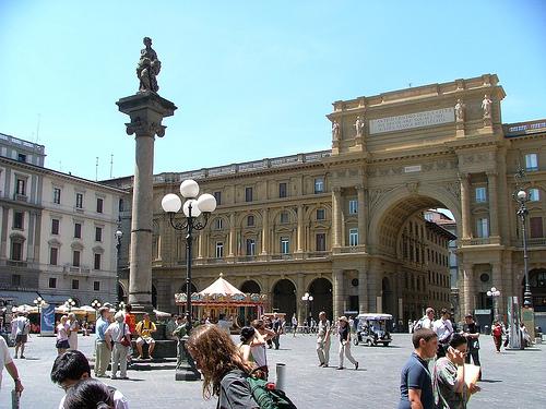 Piazza della Republica Florencia