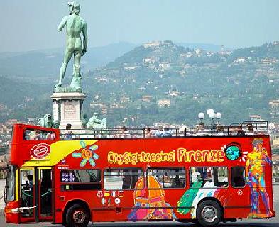 autobus turistico florencia